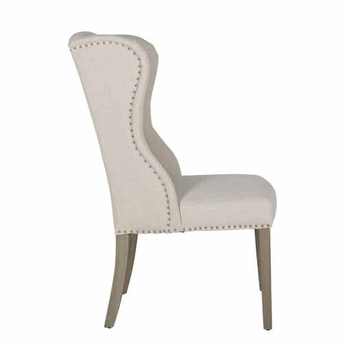 Chaise Daisy Fire RetardantSilver nails and ring Salle à manger - 316