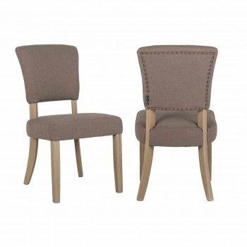 Chaise Roxy avec Bronze nails Salle à manger - 12