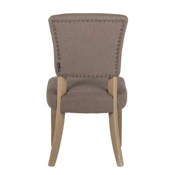 Chaise Roxy avec Bronze nails Salle à manger - 170