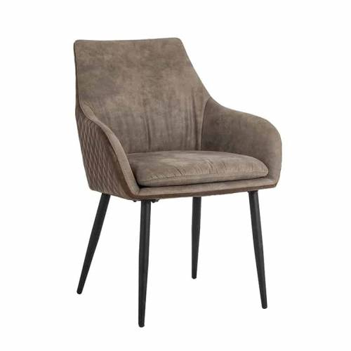 Chaise Chrissy PU leather Salle à manger - 75