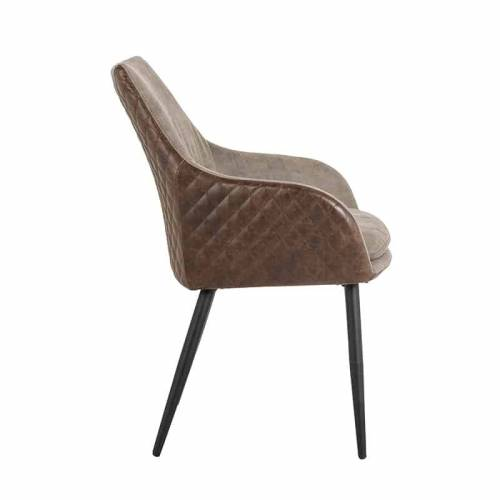 Chaise Chrissy PU leather Salle à manger - 130