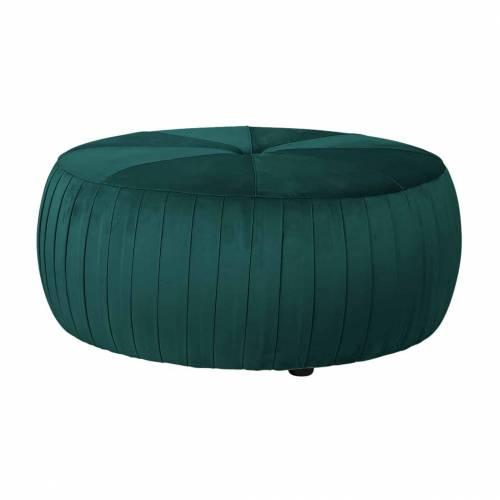 Pouf Joya Green velvet Meuble Déco Tendance - 53