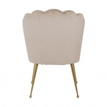 Chaise Pippa Khaki velvet/ gold Salle à manger - 109