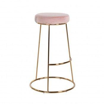Tabouret Brandy Pink Velvet...