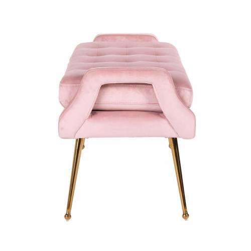 Banquette Rebel Pink Velvet / gold Bancs - 147