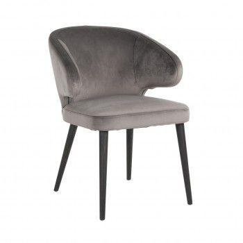 Chaise Indigo Stone velvet Salle à manger - 85