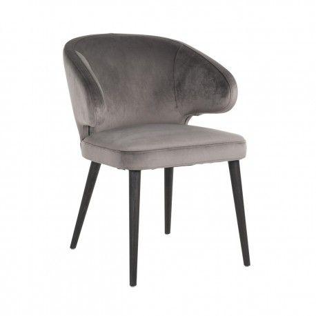 Chaise Indigo Stone velvet