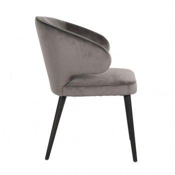 Chaise Indigo Stone velvet Salle à manger - 124