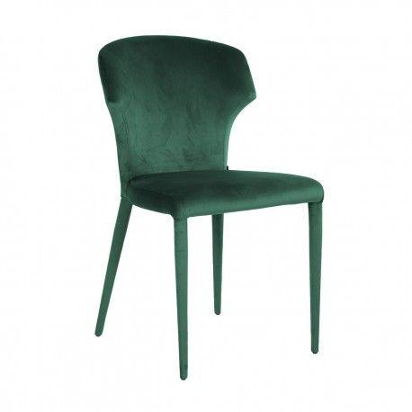 Chaise Piper Green Velvet