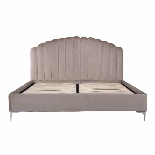 Lit double Belmond 180x200 hors matelasle lit est disponible avec des pieds dorés et argentés Meuble Déco Tendance - 137
