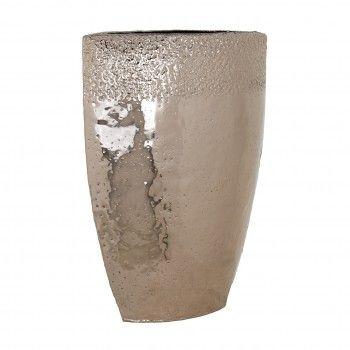 Vase Blythe champagne gold big