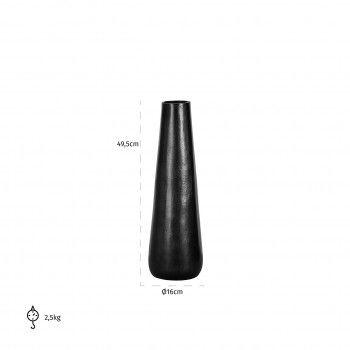 Vase Siara medium aluminium Vases - 62