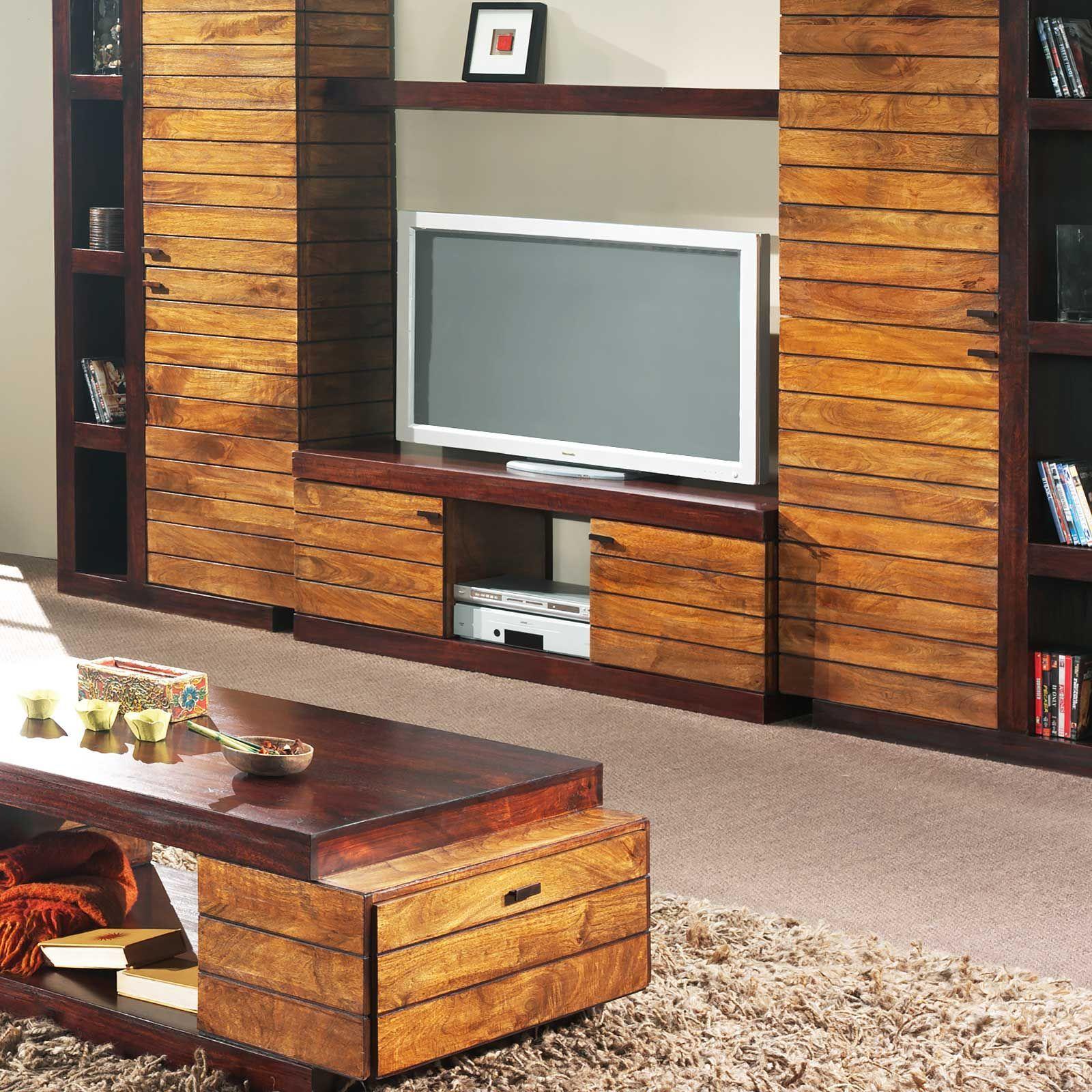 Meuble Tv bois massif haut de gamme