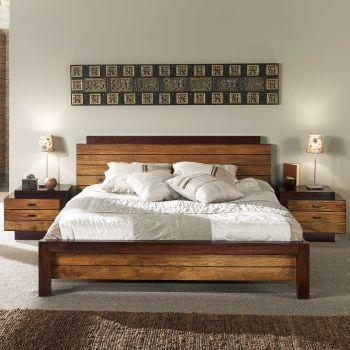 Chevet bois haute de gamme - débord gauche