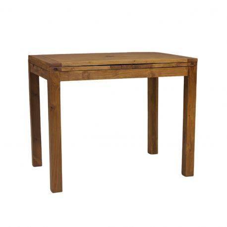 "Table haute mange debout rectangulaire ""Acacia Gordon"""