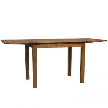 Table haute mange debout rectangulaire avec 2 rallonges en bois de qualité