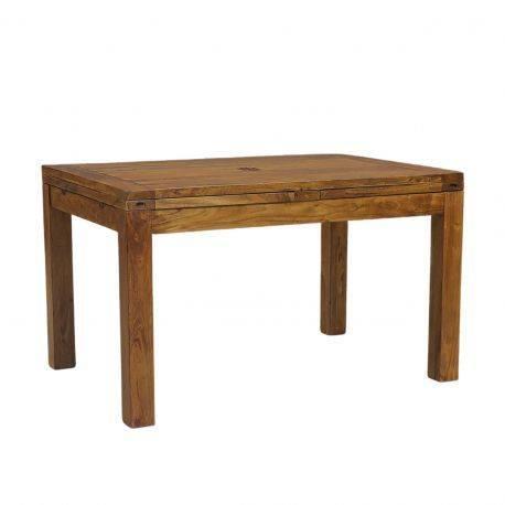 """Table à manger rectangulaire allonge """"Acacia Gordon"""""""