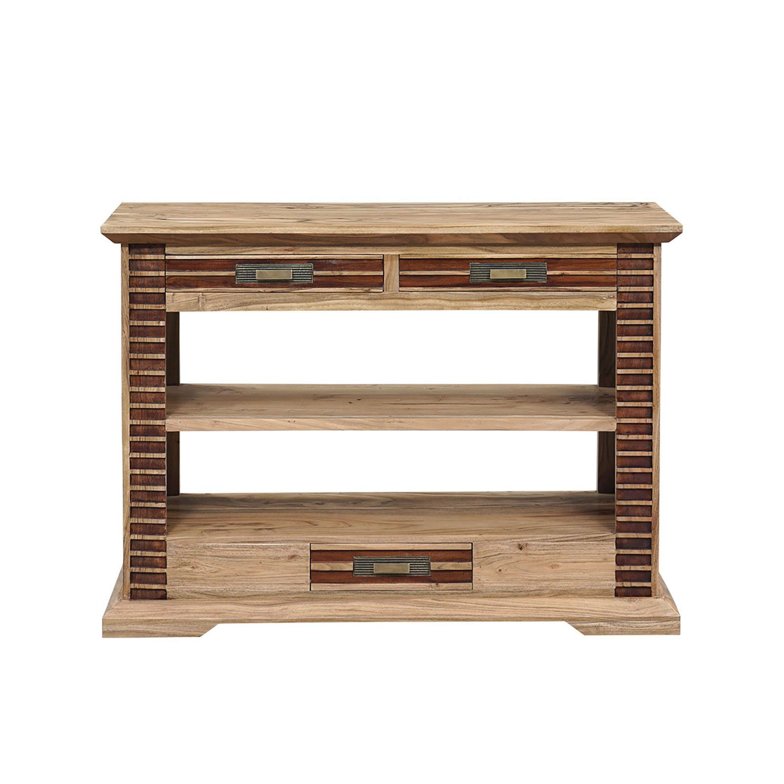 Console bois bicolore 3T 2N