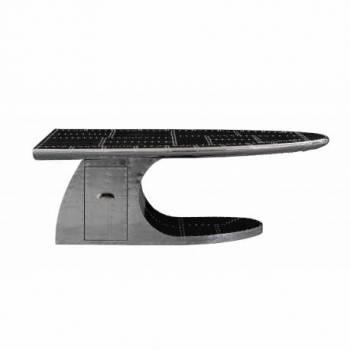 Table basse WING avec tiroir Tables basses ovales - 1