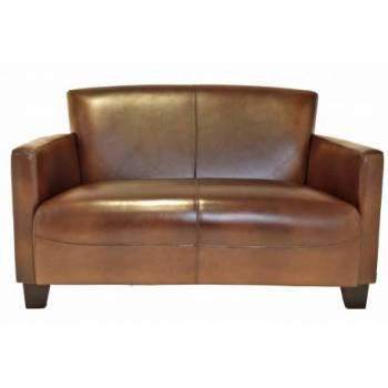 Canapé NOGENT, cuir vintage Mobilier Club Vintage - 10