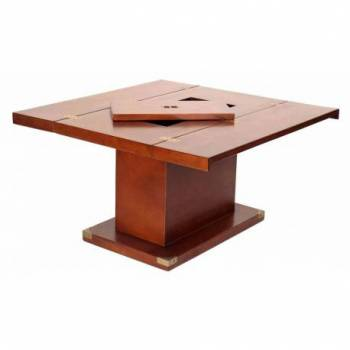 Table basse GLASGOW carré à abattants Mobilier Club Vintage - 9