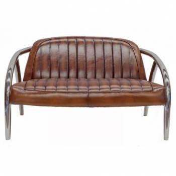 Canapé QUAD, cuir vintage Mobilier Club Vintage - 5