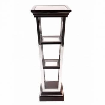 Piedestal MONTAIGNE CARRÉ, noir mat Mobilier Club Vintage - 8