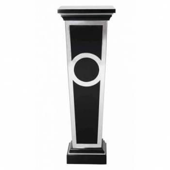 Piedestal ELYSÉE, laqué noir Mobilier Club Vintage - 1
