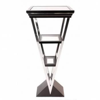 Piedestal MONTAIGNE TRIANGLE, noir mat Mobilier Club Vintage - 13