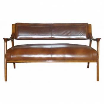 Canapé BERFEN, cuir vintage Mobilier Club Vintage - 4