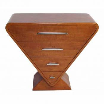 Commode ICONE, noyer Mobilier Club Vintage - 19