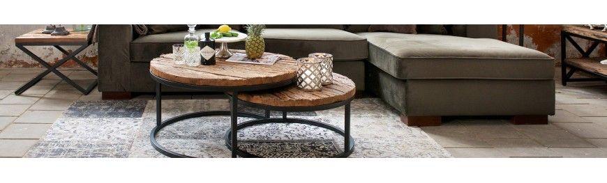 Table basse et bouts de canapés haut de gamme