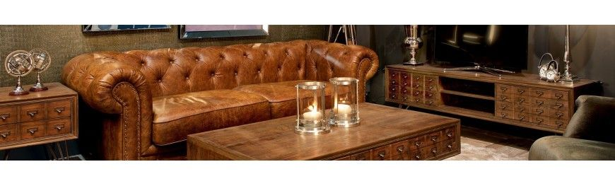 Amsterdam Collection meubles ethnique chic - Bois et Chiffons